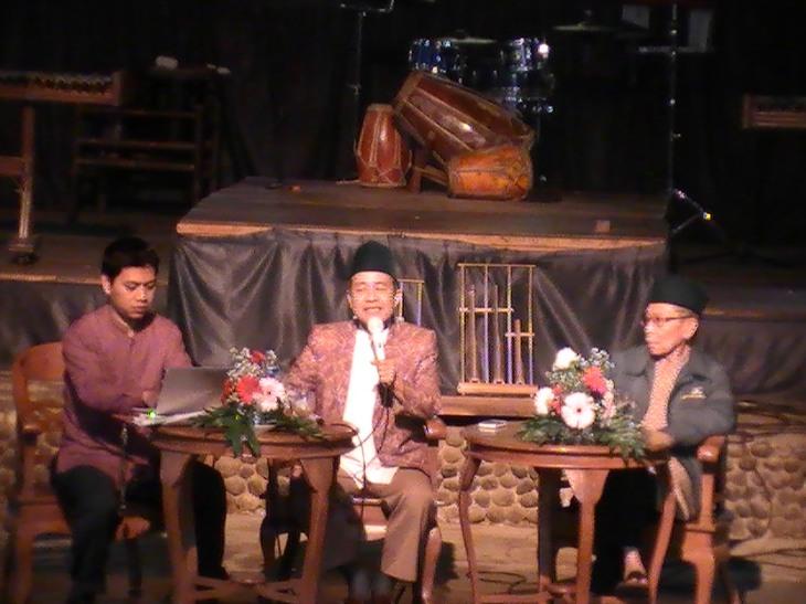 Kang Ndik, Prof. Maman, Ust. Usman