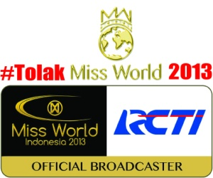 Tolak Miss World 2013 MD