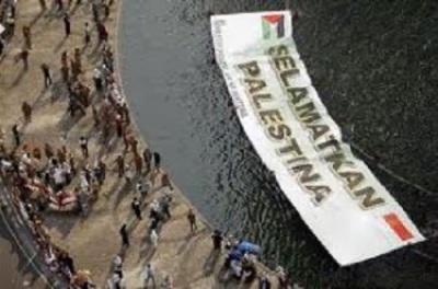 Upaya Indonesia Selamatkan Palestina (foto Washington Post)